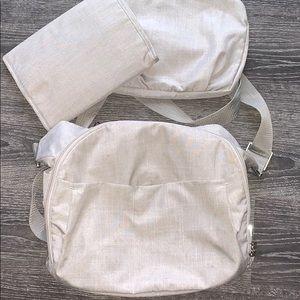 Stokke Diaper Bag, Grey, Crossbody